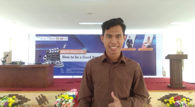 ANTUSIASME PESERTA WORKSHOP BROADCASTER PONOROGO